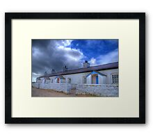 Llanddwyn Island Pilot's Cottages Framed Print
