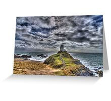 Llanddwyn Island - Light house Greeting Card