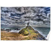 Llanddwyn Island - Light house Poster