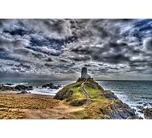 Llanddwyn Island - Light house Photographic Print