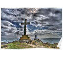 Saint Dwynwen's Spot Poster