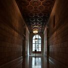 New York Public Library - Hallway by Kaitlin Kelly