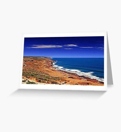 Kalbarri Coastline - Western Australia  Greeting Card
