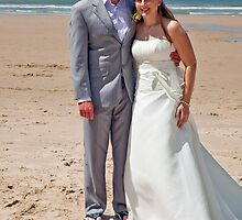 Beach Wedding by Kathleen Hill
