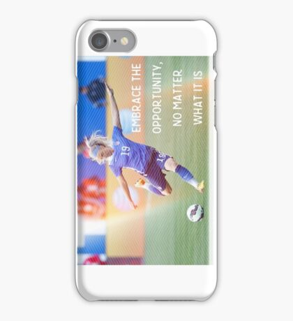 Julie Johnston phone case iPhone Case/Skin