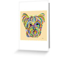 Yorkshire Terrier - YORKIE! Greeting Card