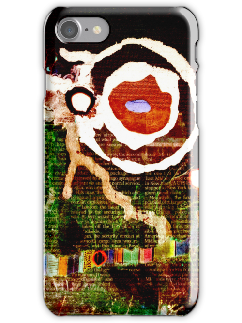 Dream Painting Remix iPhone/iPod Case by Jay Taylor