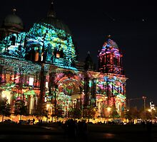 Berliner Dome at the Festival of Lights by MissBea