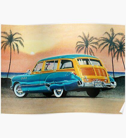 1949 Buick Super Estate Wagon ver 1 Poster