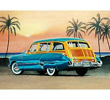 1949 Buick Super Estate Wagon ver 1 Photographic Print