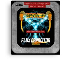 Flux Capacitor 88MPH to the future Canvas Print