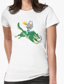 Little Imp Big Dog Womens Fitted T-Shirt