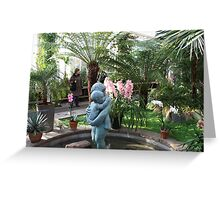 In the Palmhouse II Greeting Card