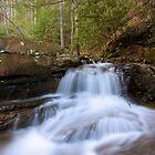 Waterfall in the Mountains by XxJasonMichaelx