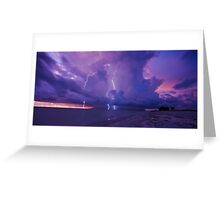 Lighting Storm Greeting Card