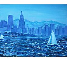 Oil Painting - San Francisco Bay. 2012 Photographic Print