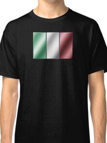 Italian Flag - Italy - Metallic Classic T-Shirt