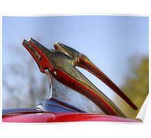 Chevy Mascot, Impala Poster