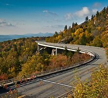 Linn Cove Viaduct by A Different Eye Photography