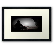 Chinook Gunner Framed Print