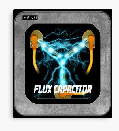 Flux Capacitor only Canvas Print