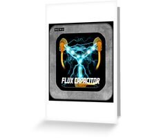 Flux Capacitor only Greeting Card