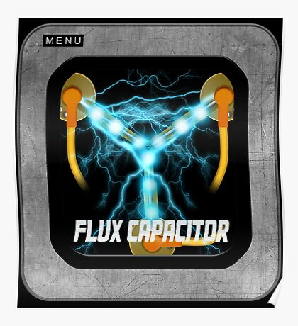 Flux Capacitor only Poster