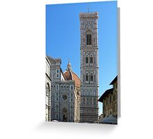 Campanile Tower and Duomo, Florence Greeting Card