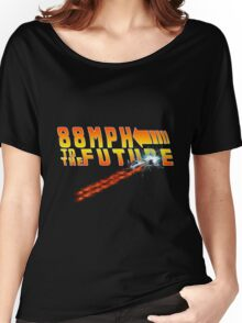 88MPH to the Future out of time Women's Relaxed Fit T-Shirt