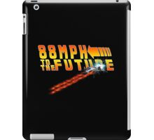 88MPH to the Future out of time iPad Case/Skin