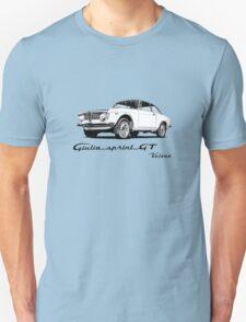 Alfa Romeo 1600 Giulia Sprint GT Veloce T-Shirt