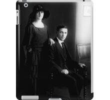 Vintage William & Jesse 1921 iPad Case/Skin