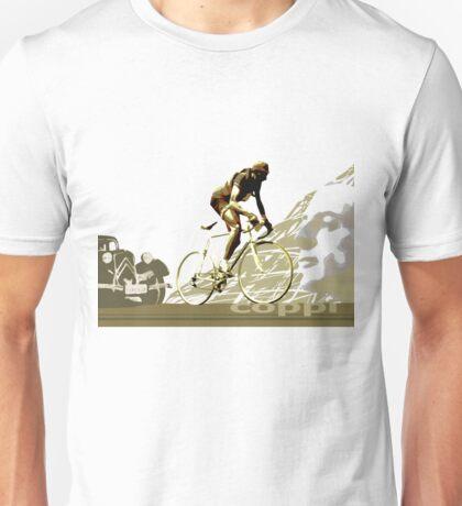 retro FAUSTO COPPI Tour de France cycling poster Unisex T-Shirt