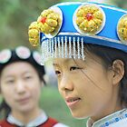 Chinese Naxi Girl 3 by barnabychambers