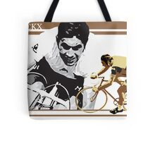 vintage poster EDDY MERCKX: the cannibal Tote Bag