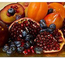 Fruit studio shot by MrsRatbag