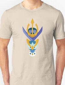 Awkward Penguin Portrait T-Shirt