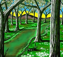 """Springtime Path"" by Steve Farr"