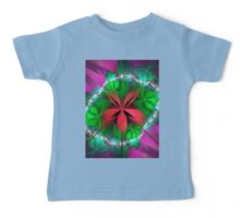 red ribbon Baby Tee