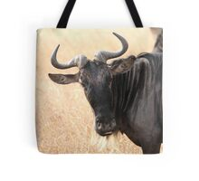 Wildebeest Portrait #1 Tote Bag