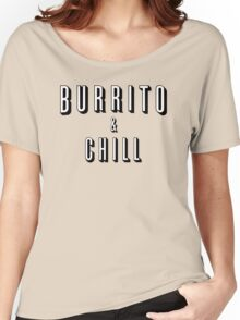 Burrito and Chill Women's Relaxed Fit T-Shirt