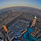 Dubai Mall Fish-eyed in HDR by Michael Powell