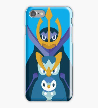 Awkward Penguin Portrait iPhone Case/Skin