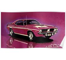 1970 Plymouth 'Cuda Poster