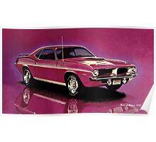 1970 Plymouth 'Cuda Poster