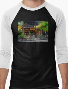 Hoi An Street Scene 4 Men's Baseball ¾ T-Shirt