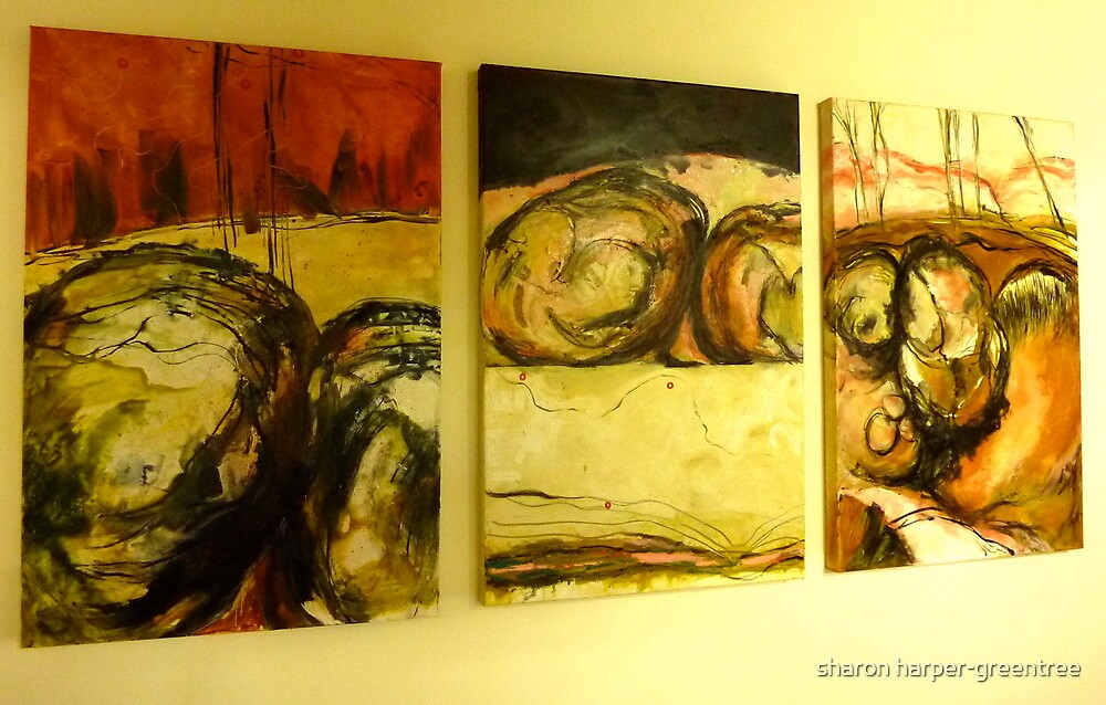 earth/skin series by sharon harper-greentree