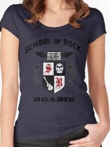 Rock Roadie Women's Fitted Scoop T-Shirt