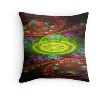 Bubbleland Throw Pillow