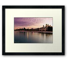 Cottesloe Dawn Framed Print